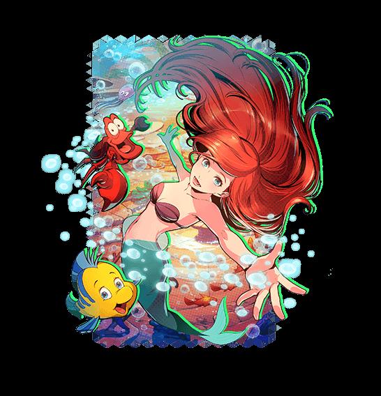 Disney Anime Ariel