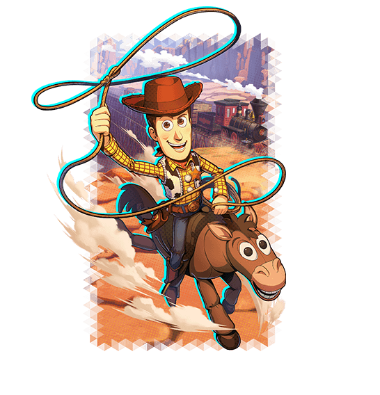 Pixar Anime Woody