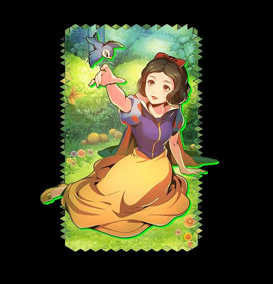 Disney Anime Blanca Nieves