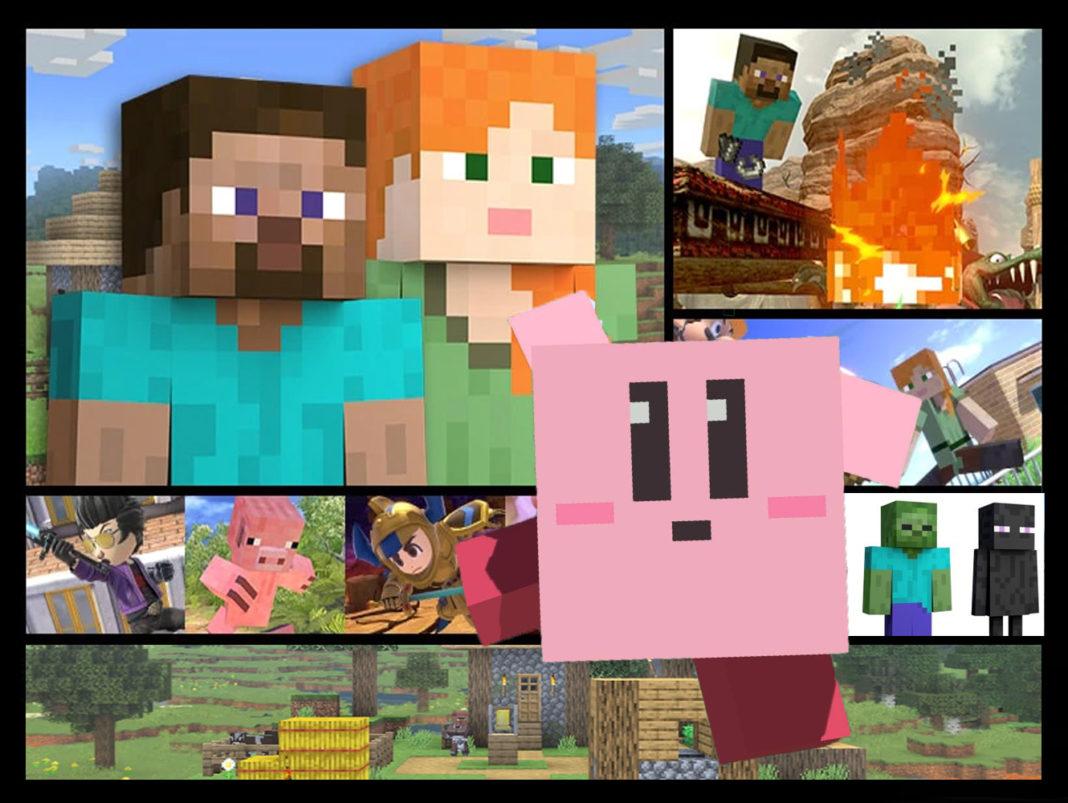 Minecraft en Smash