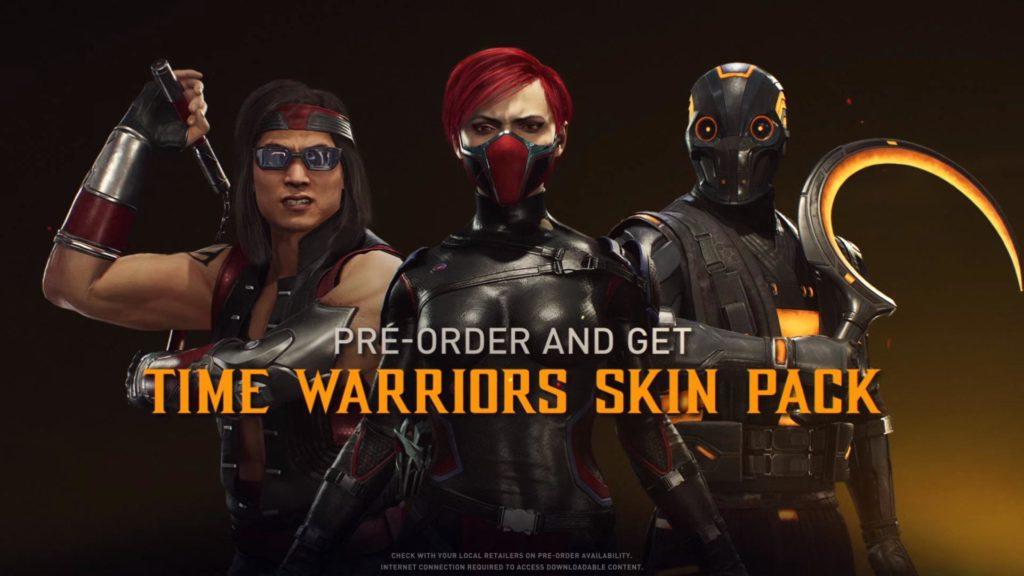 Liu Kang, Skarlet y Noob Saibot en Mortal Kombat 11 Ultimate