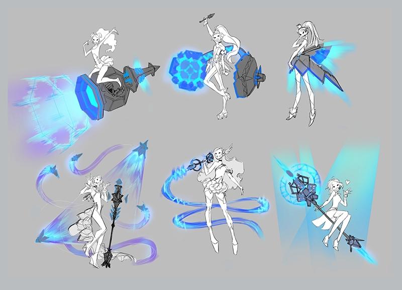 Seraphine diseño