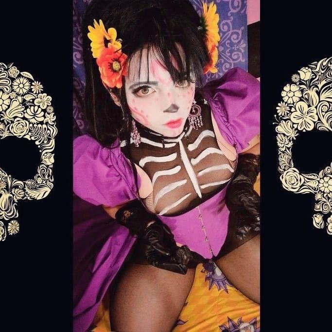 Catalina la Catrina por DarkWaifuTrap
