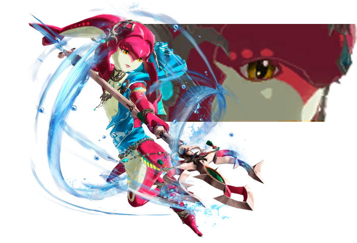Hyrule Warriors: Age of Calamity — Mipha