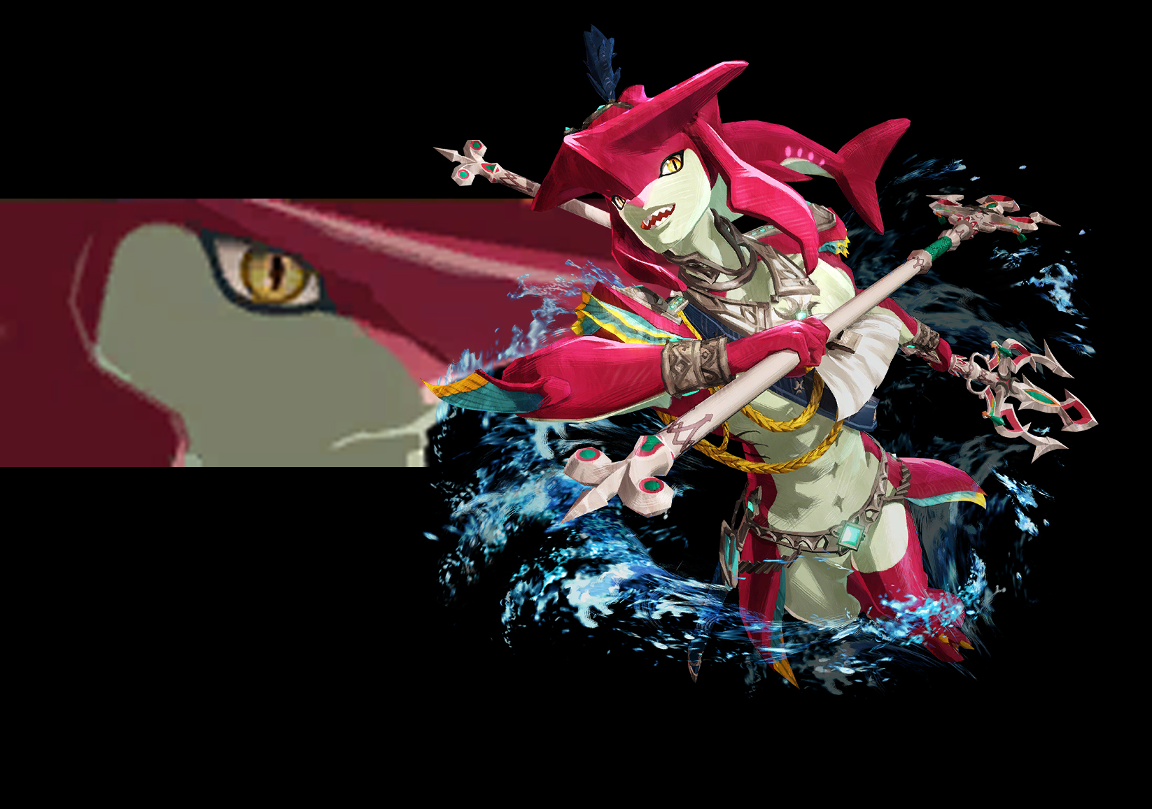 Hyrule Warriors: Age of Calamity — Sidon