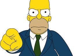 Tu podrías ser el nuevo administrador... - Frases De Los Simpsons | Facebook