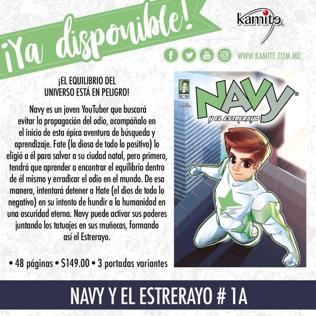 Navy y el estrerayo