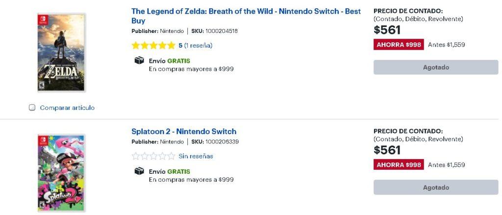 Best Buy Nintendo Switch