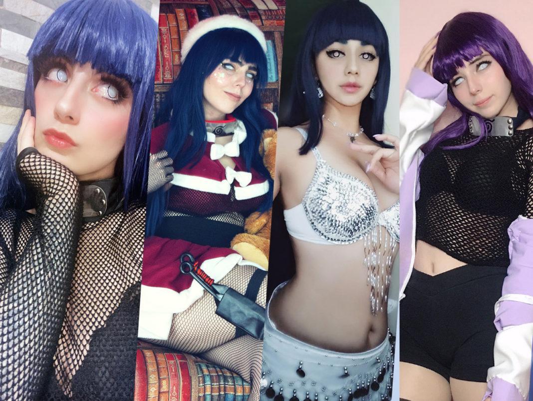 Hinata Hyuga Cosplay
