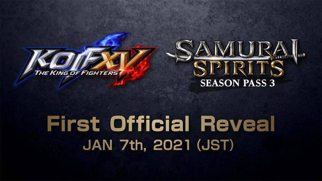 King of Fighters XV y Samurai Shodown