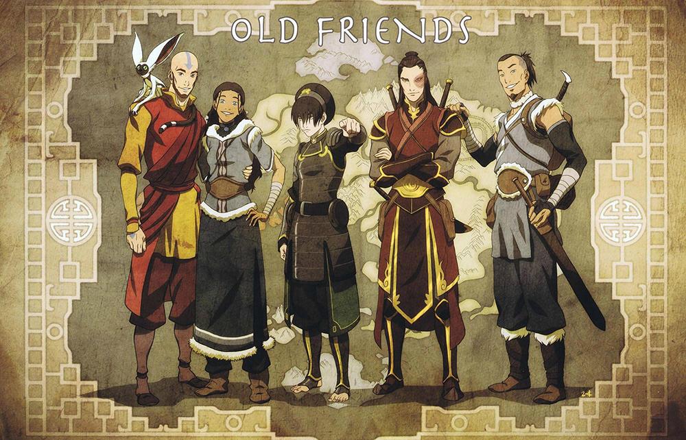 Avatar Studios: Aang y compañía de adultos