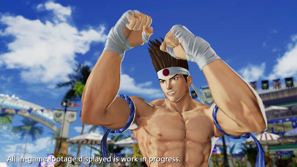 Joe The King of Fighters XV