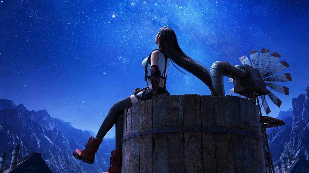 Tifa Final Fantasy VII Remake parte 2