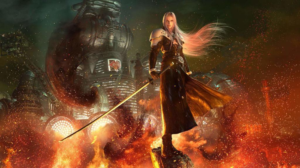 Sephiroth Final Fantasy Remake parte 2