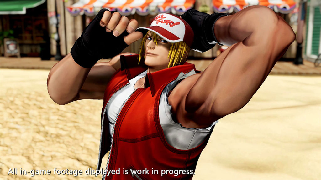 Terry The King of Fighters XV