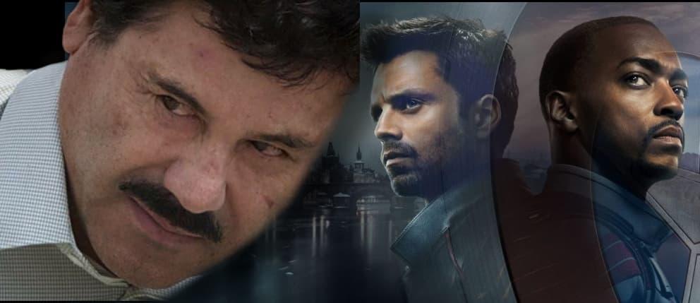 El Chapo Guzmán en Falcón and the Winter Soldier