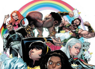 Marvel Pride Cover