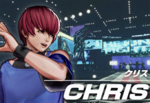 Chris The King of Fighters XV
