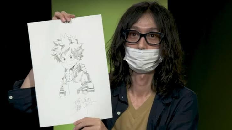 Horikoshi My Hero Academia