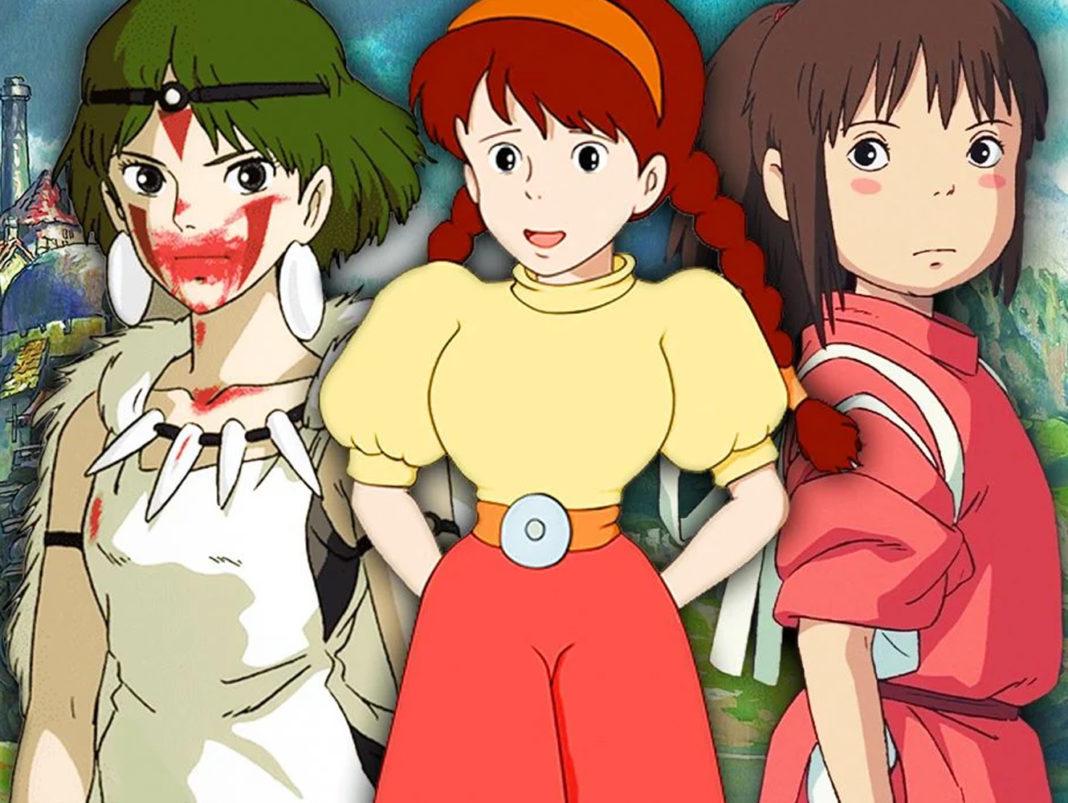 Ghibli girls