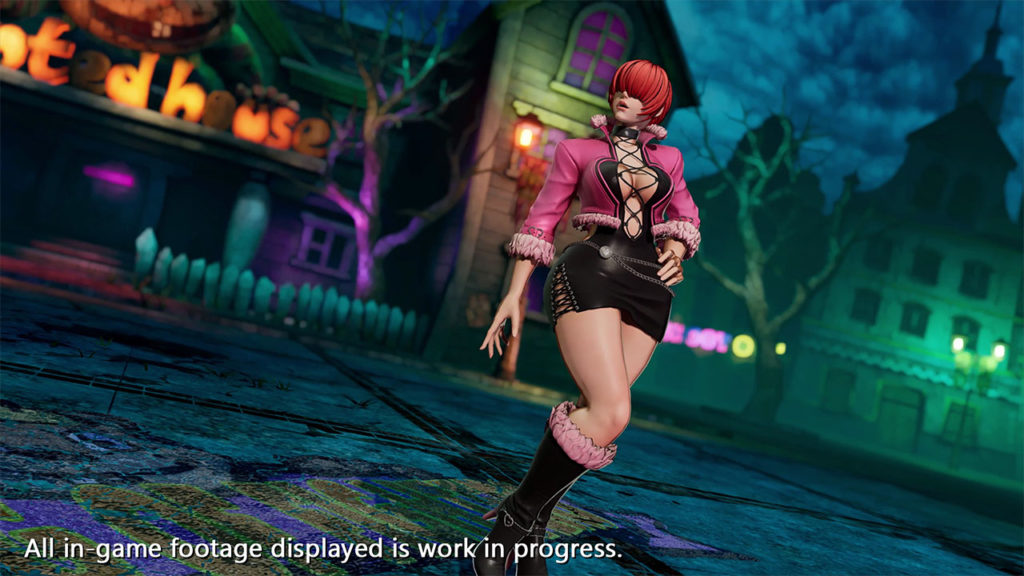 Shermie The King of Fighters XV