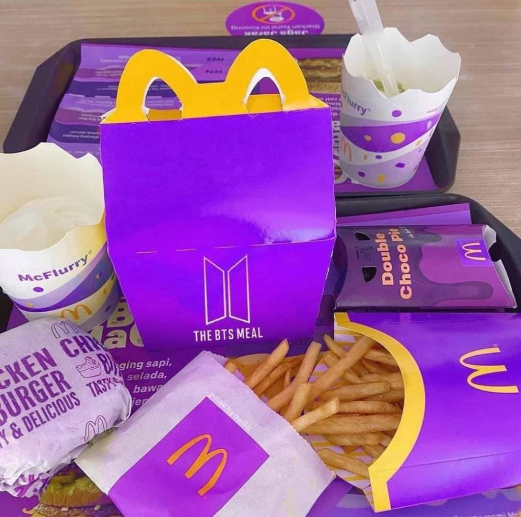 BTS McDonalds