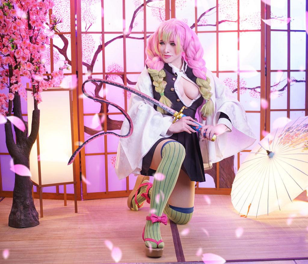 Mitsuri Kanroji por Liz Sakura