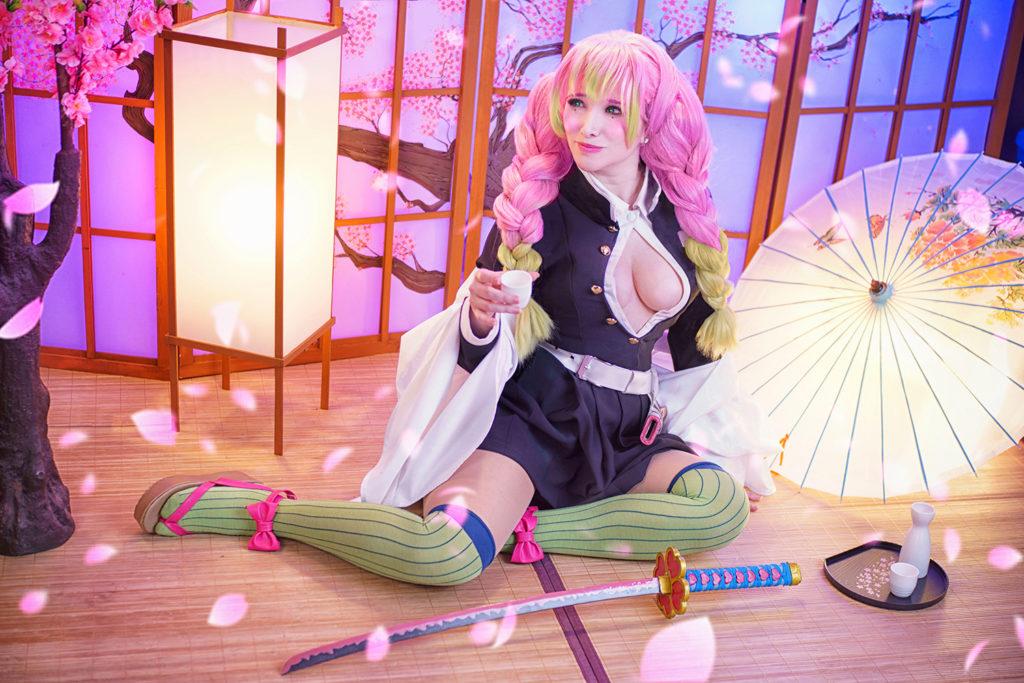 Mitsuri Kanroji por Liz Sakura — Kimetsu no Yaiba