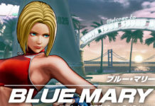 Blue Mary The King of Fighters XV