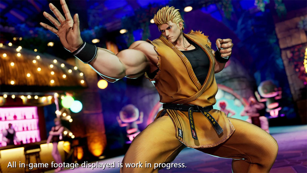 Ryo The King of Fighters XV