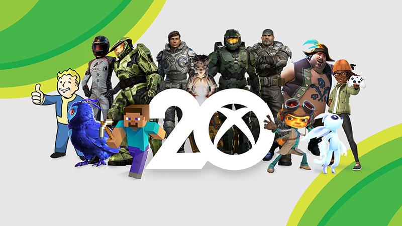 Xbox 20 años