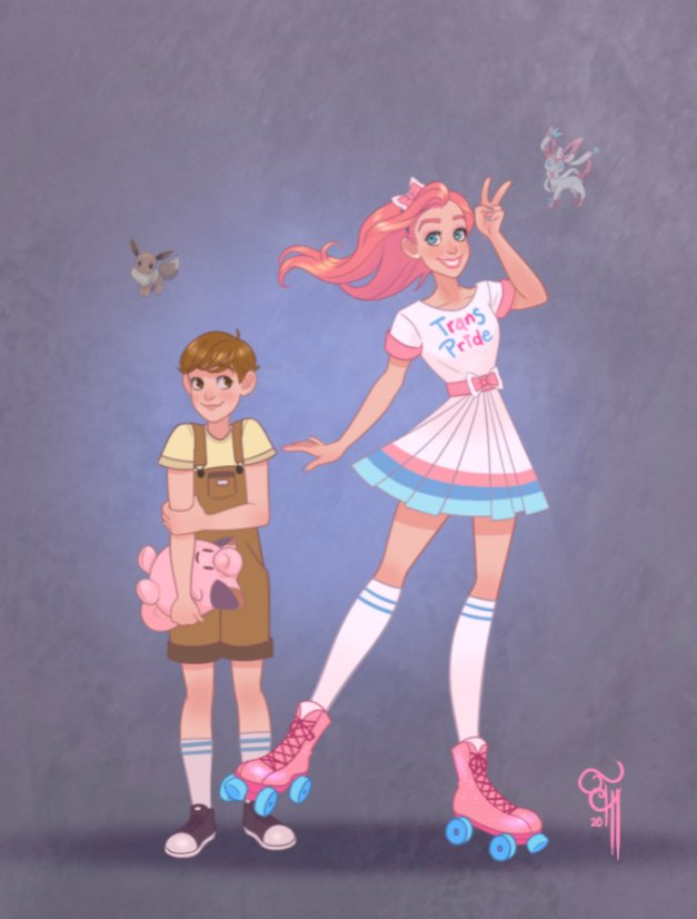 Pokemon Pride: Trans