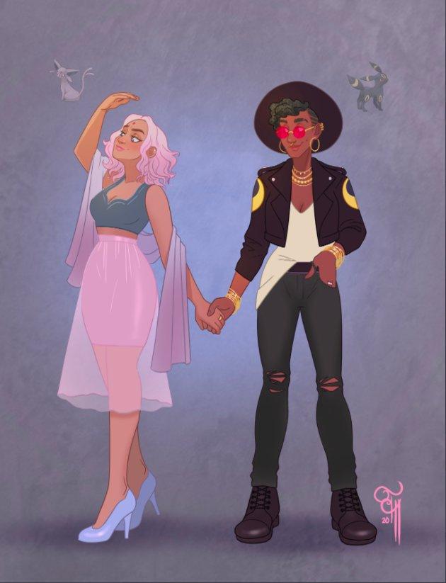 Pokemon Pride: lesbianas