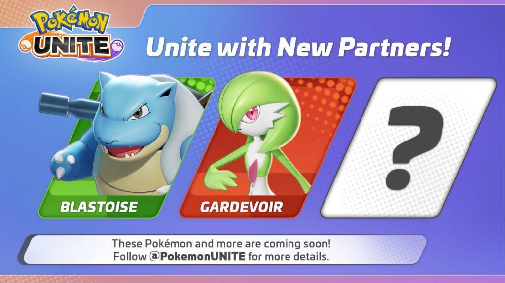 Pokemon Unite Blastoise Gardevoir