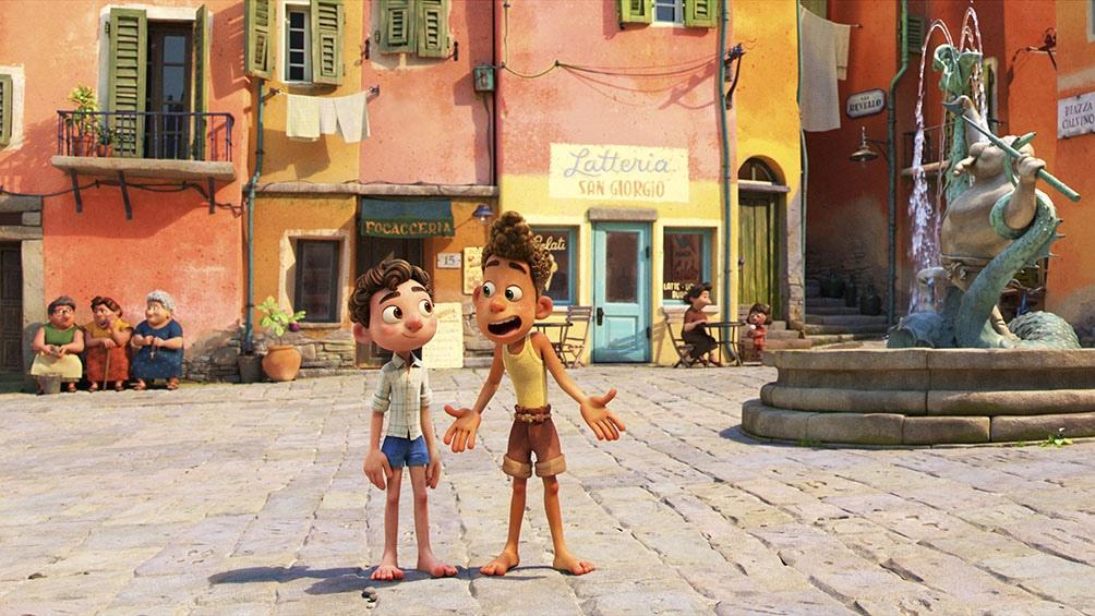 Luca, Pixar al rededor del mundo