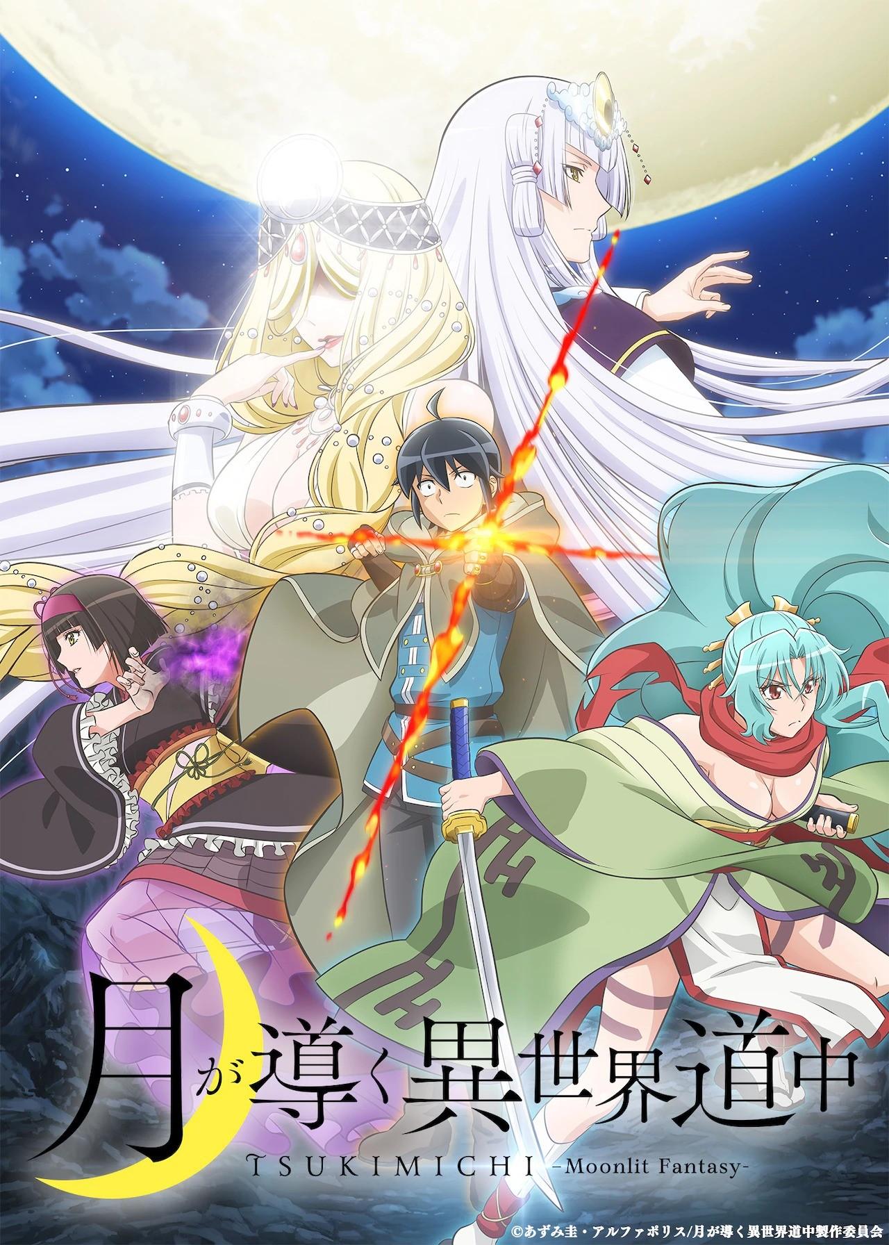 Guía de anime: Verano 2021 TSUKI GA MICHIBIKU ISEKAI DOUCHUU