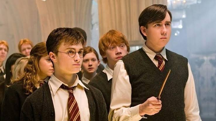 Neville Longbottom y Harry Potter