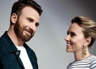 Scarlett Johansson y Chris Evans