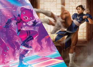 Fortnite y Street Fighter en Magic The Gathering