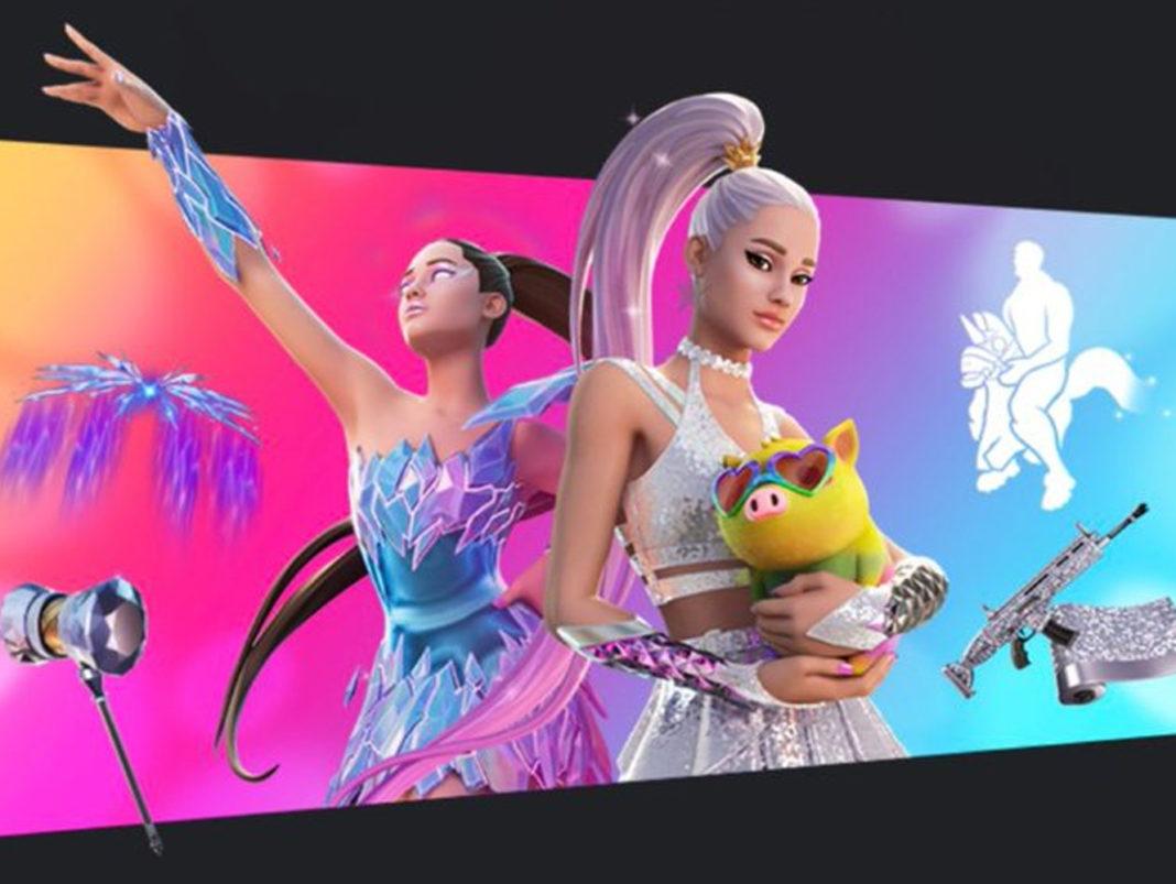 Ariana Grande en Fortnite