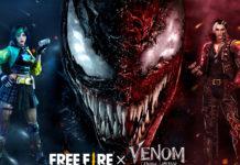 """El evento """"Ataque del Caos"""" llevará a Venom y Carnage al universo de Free Fire"""