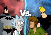 Multiversus; Scooby doo, batman, Jhonny Bravo, Rick Sanchez